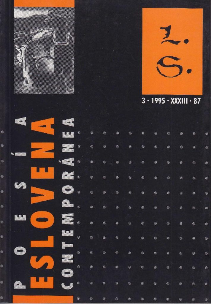 Poesia eslovena contemporanea